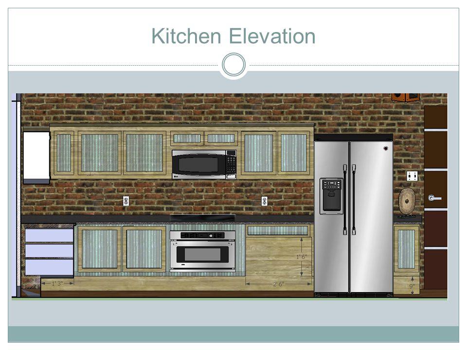 Kitchen/Living Room Elevation