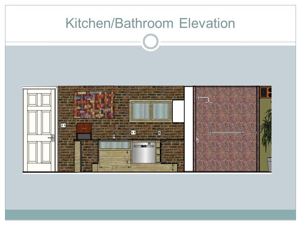Bathroom/Bedroom Elevation