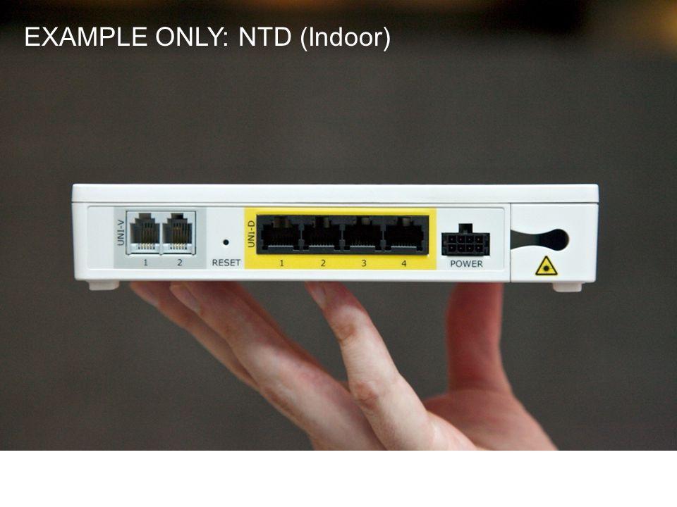 EXAMPLE ONLY: NTD (Indoor)