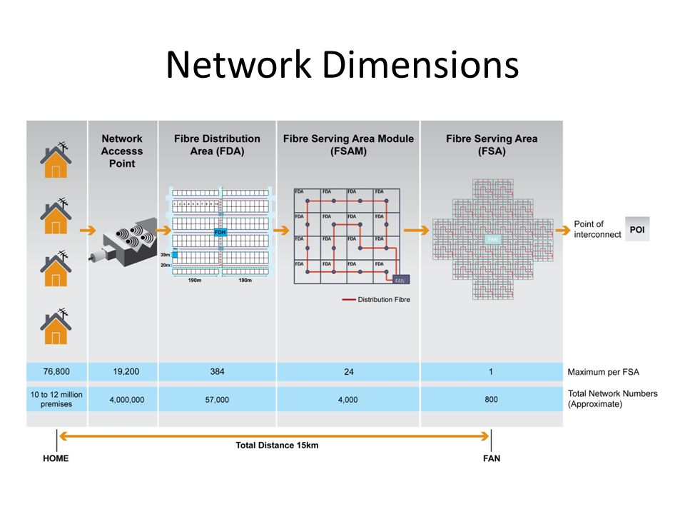 Network Dimensions