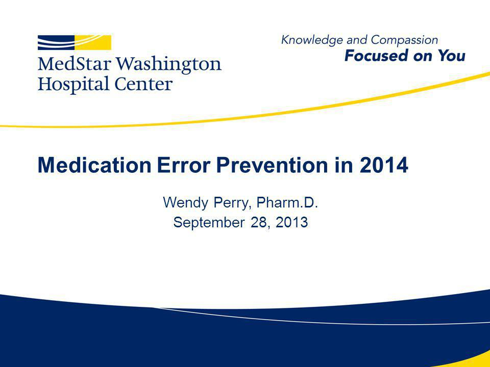 Objectives Describe a Medication Safety Officers responsibilities.