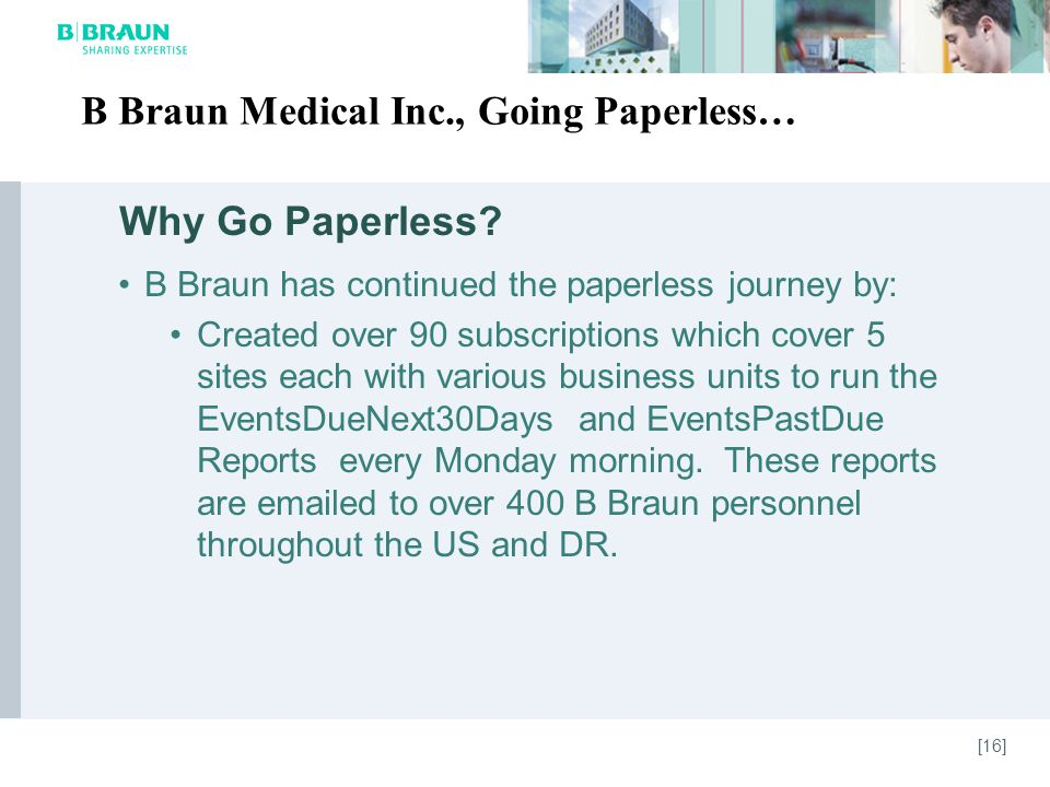 Why Go Paperless.