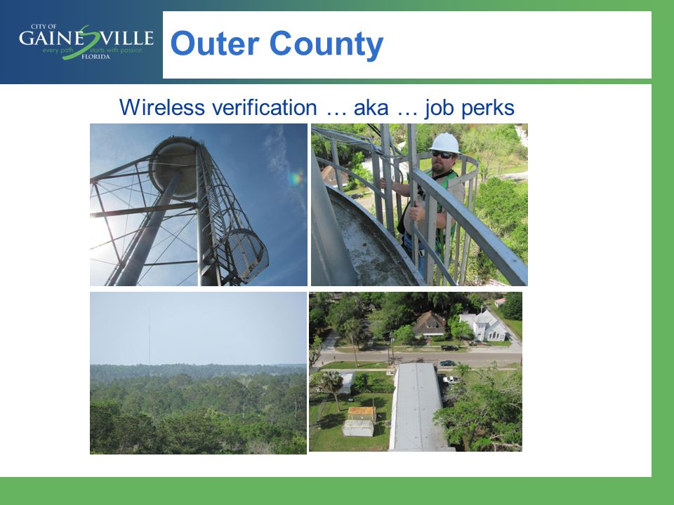 Outer County Wireless verification … aka … job perks