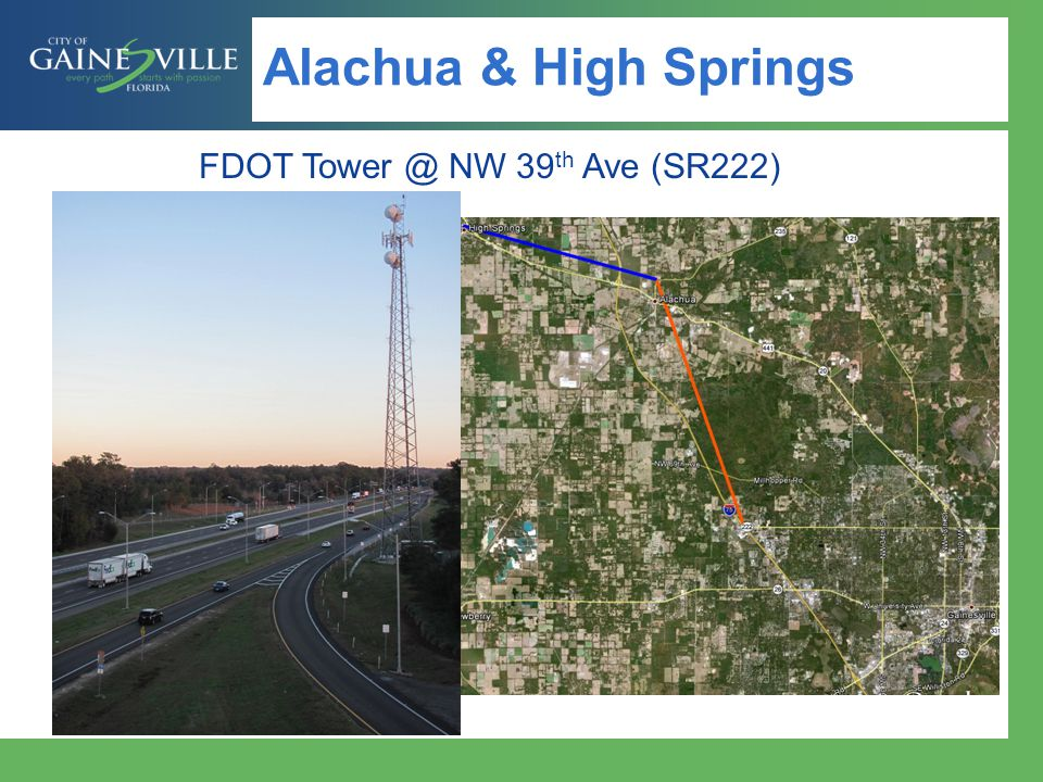 Alachua & High Springs FDOT NW 39 th Ave (SR222)