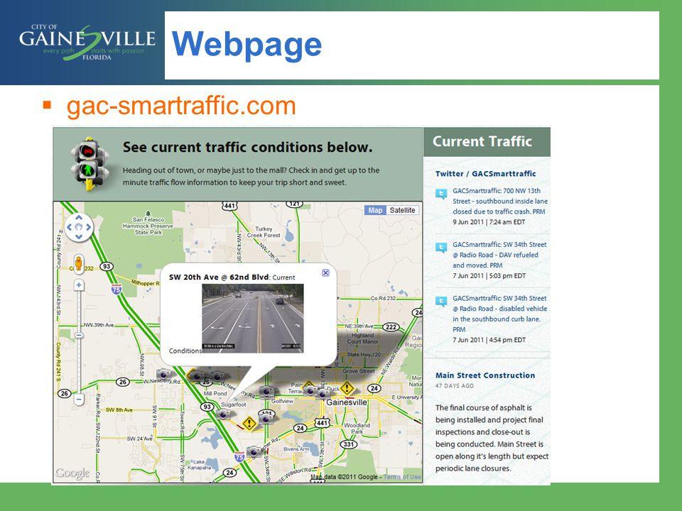 Webpage gac-smartraffic.com