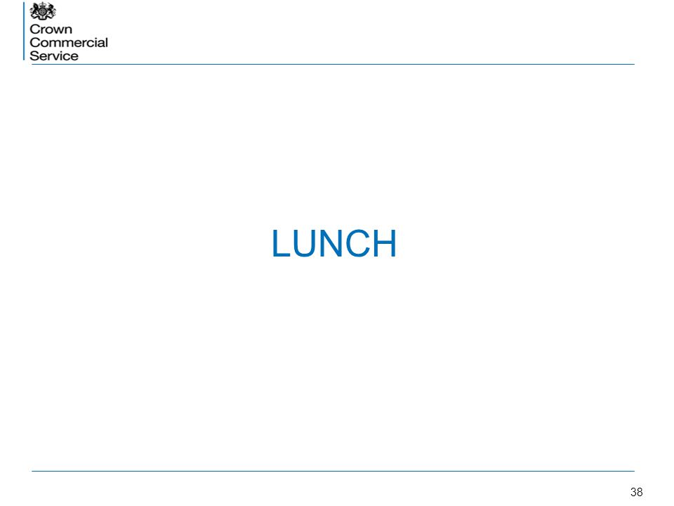 38 LUNCH