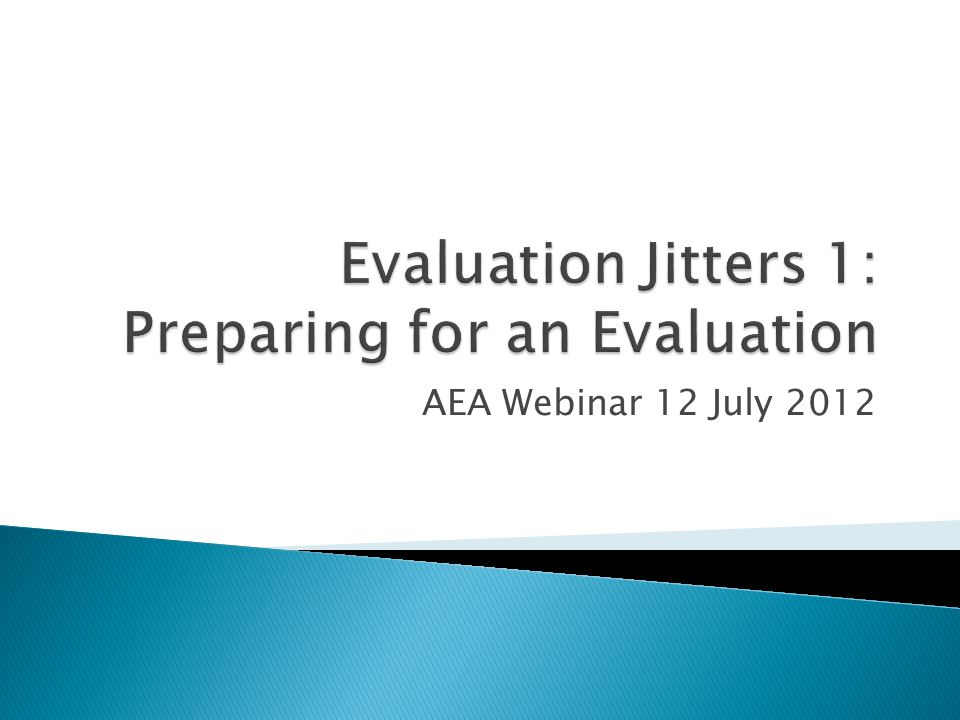 AEA Webinar 12 July 2012