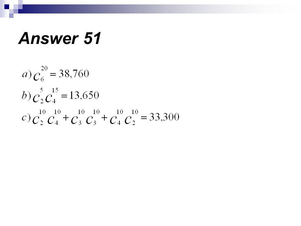 Answer 51
