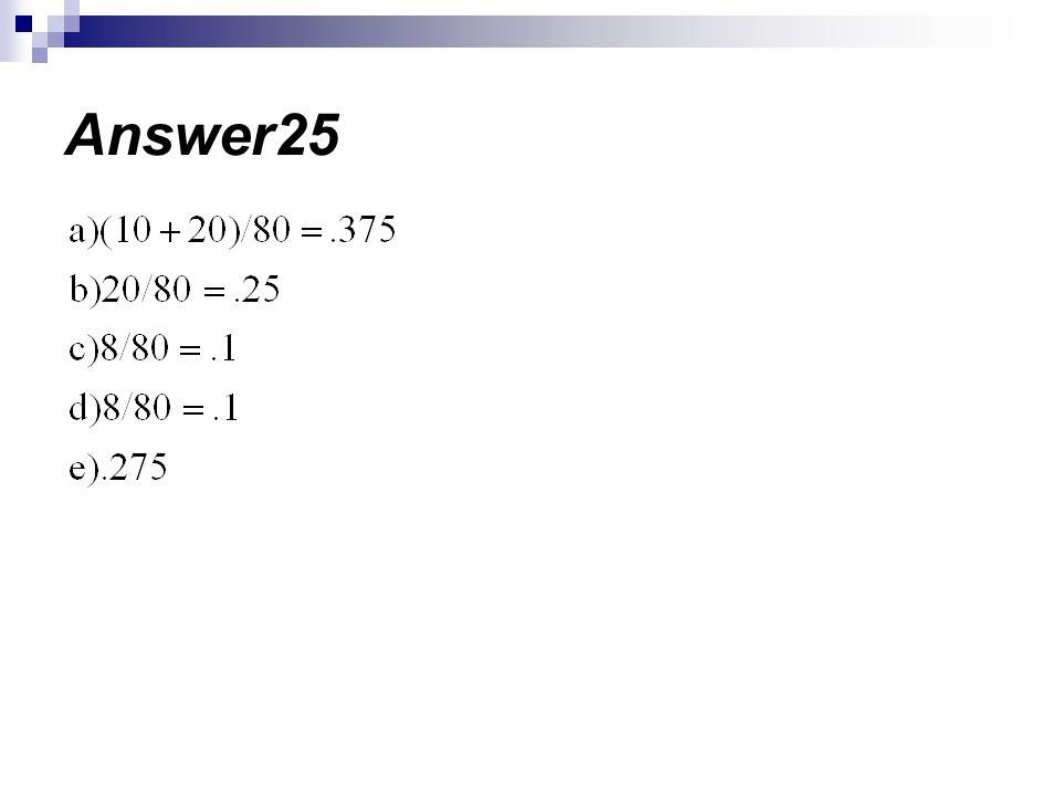 Answer25