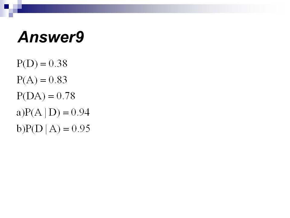 Answer9