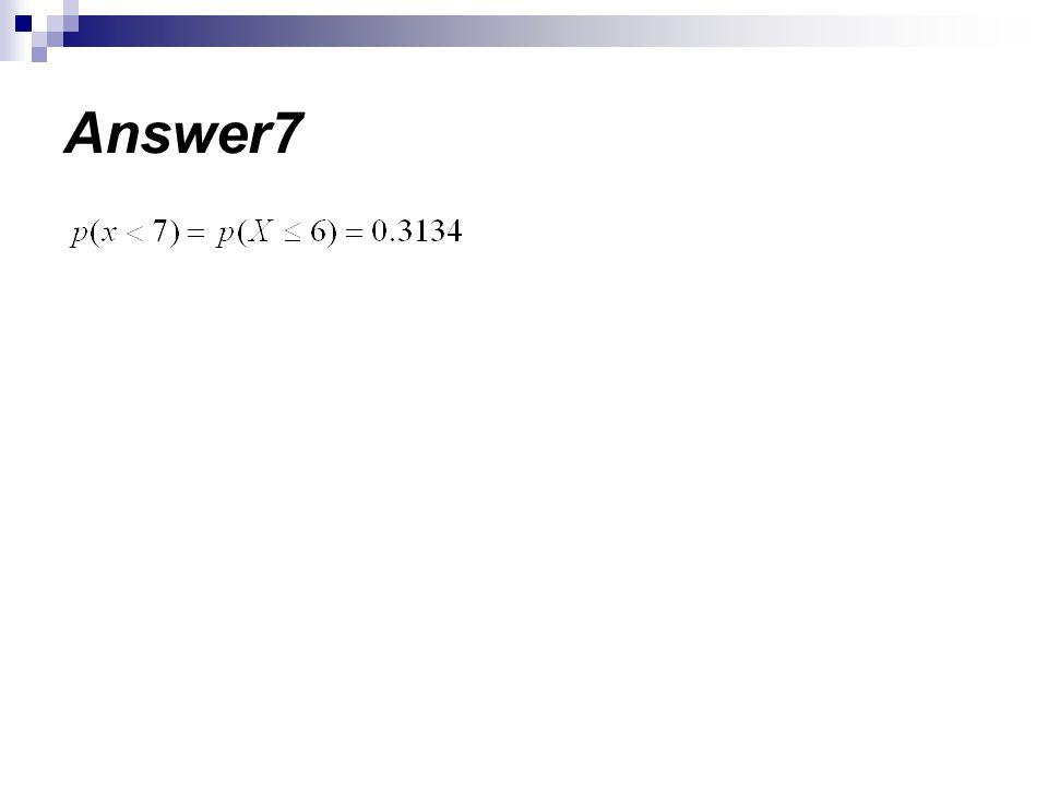Answer7