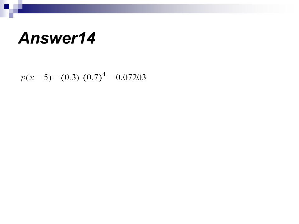 Answer14