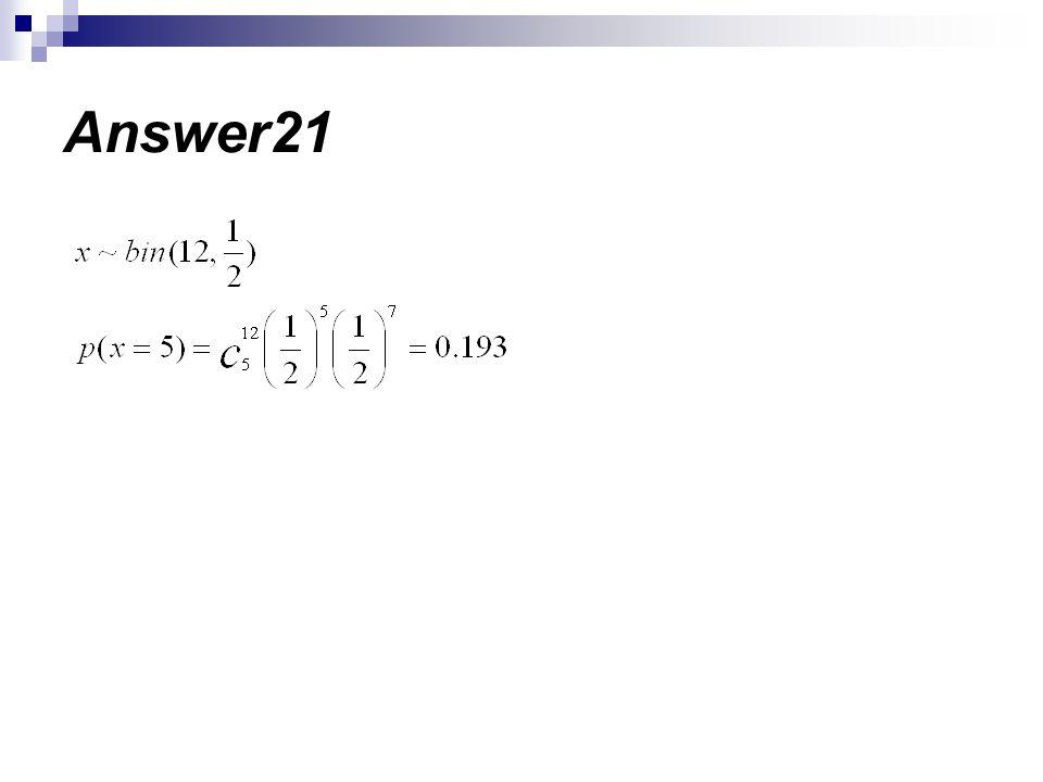 Answer21