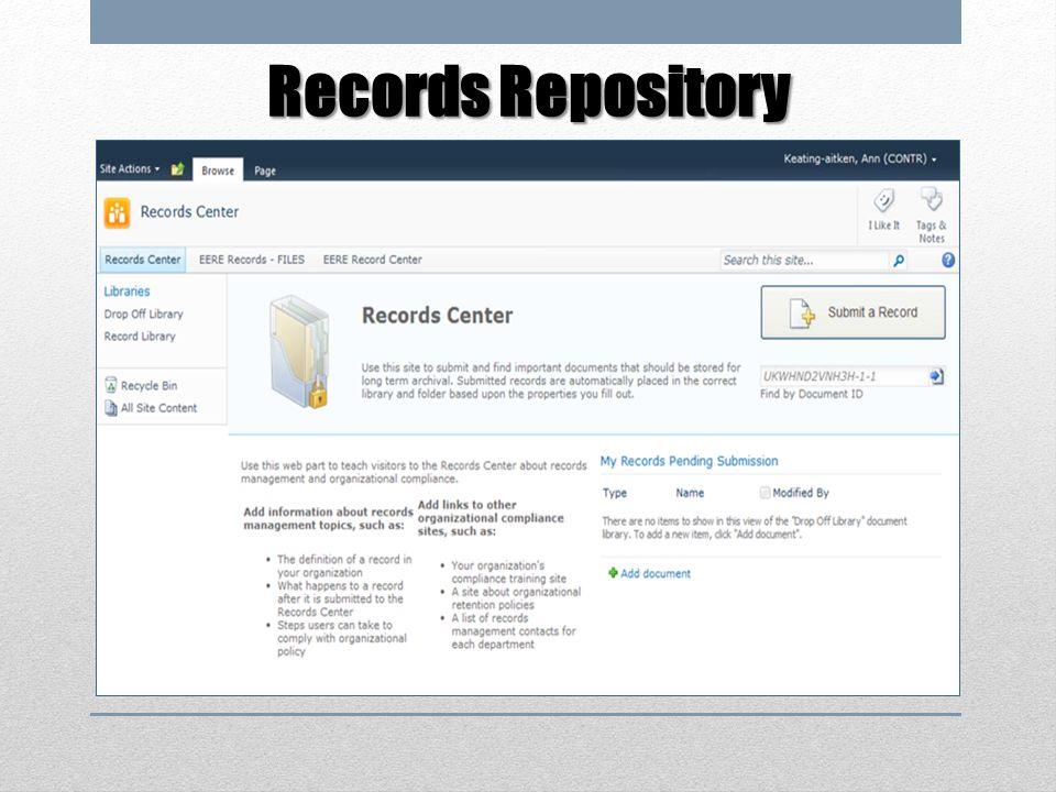 Records Repository