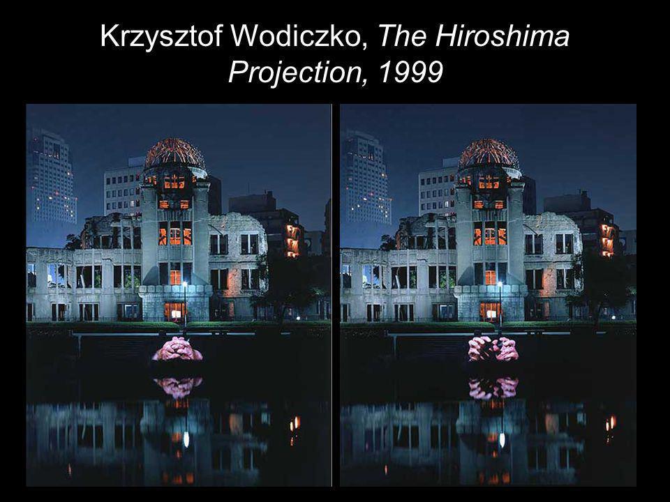 Krzysztof Wodiczko, The Hiroshima Projection, 1999