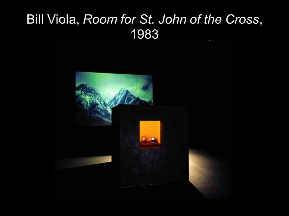 Bill Viola, Room for St. John of the Cross, 1983