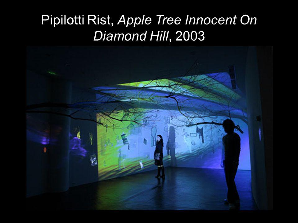 Pipilotti Rist, Apple Tree Innocent On Diamond Hill, 2003