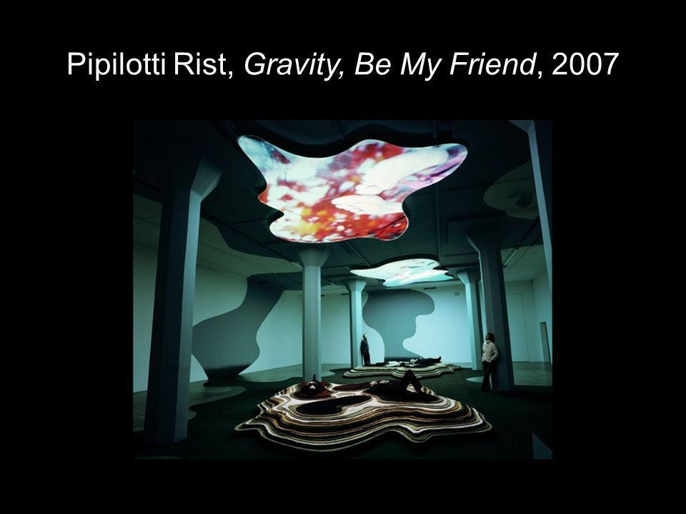 Pipilotti Rist, Gravity, Be My Friend, 2007