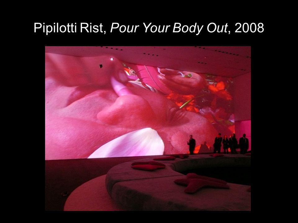 Pipilotti Rist, Pour Your Body Out, 2008