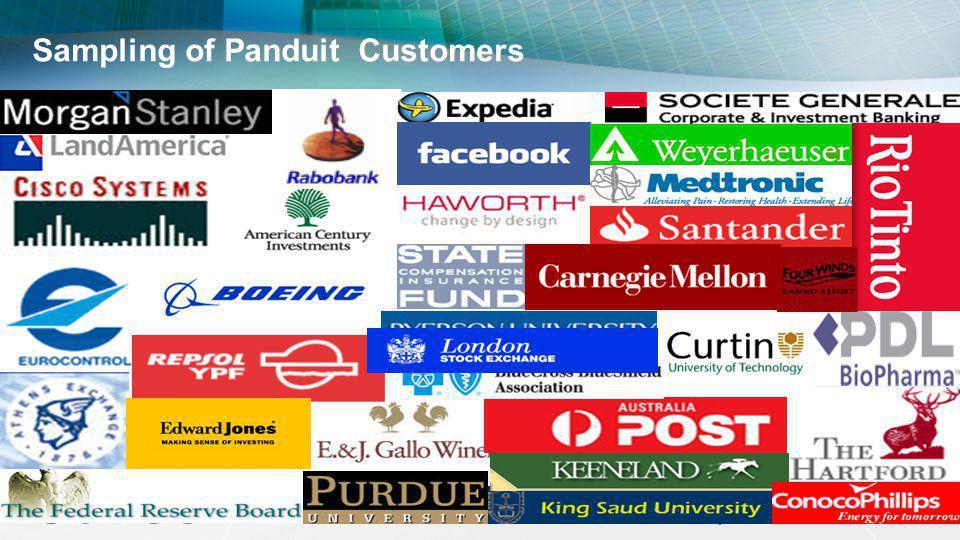 Sampling of Panduit Customers