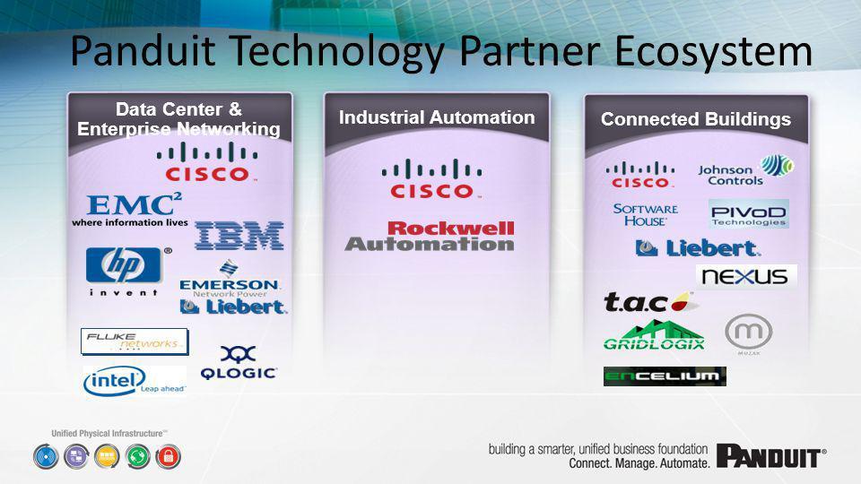 Panduit Technology Partner Ecosystem Connected Buildings Industrial Automation Data Center & Enterprise Networking