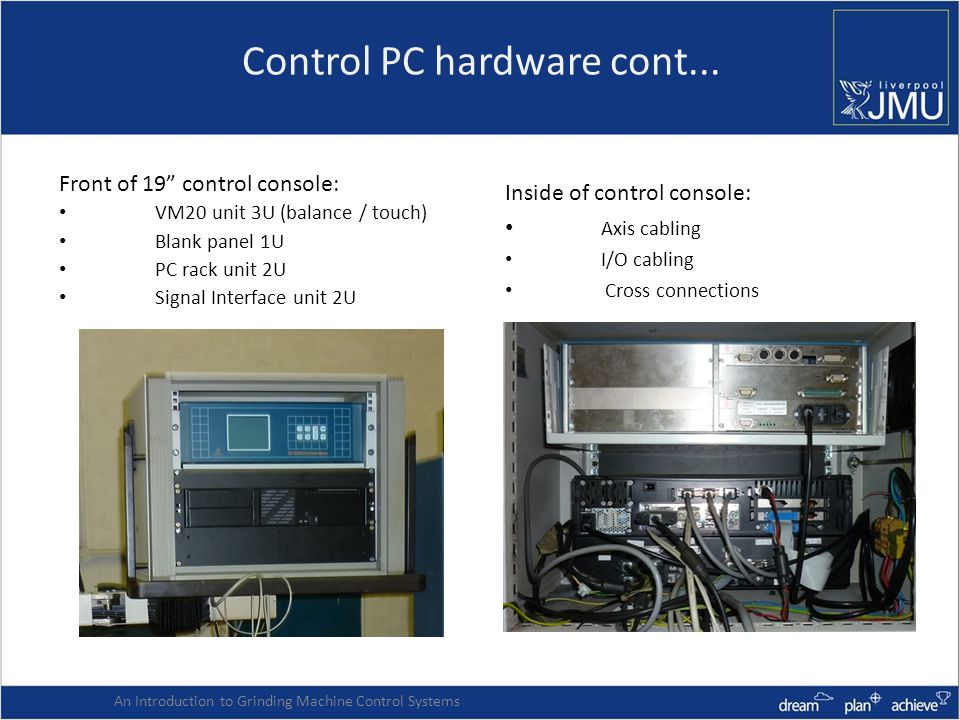 Control PC hardware cont...