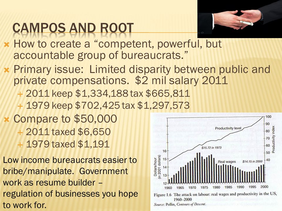 How to create a competent, powerful, but accountable group of bureaucrats.
