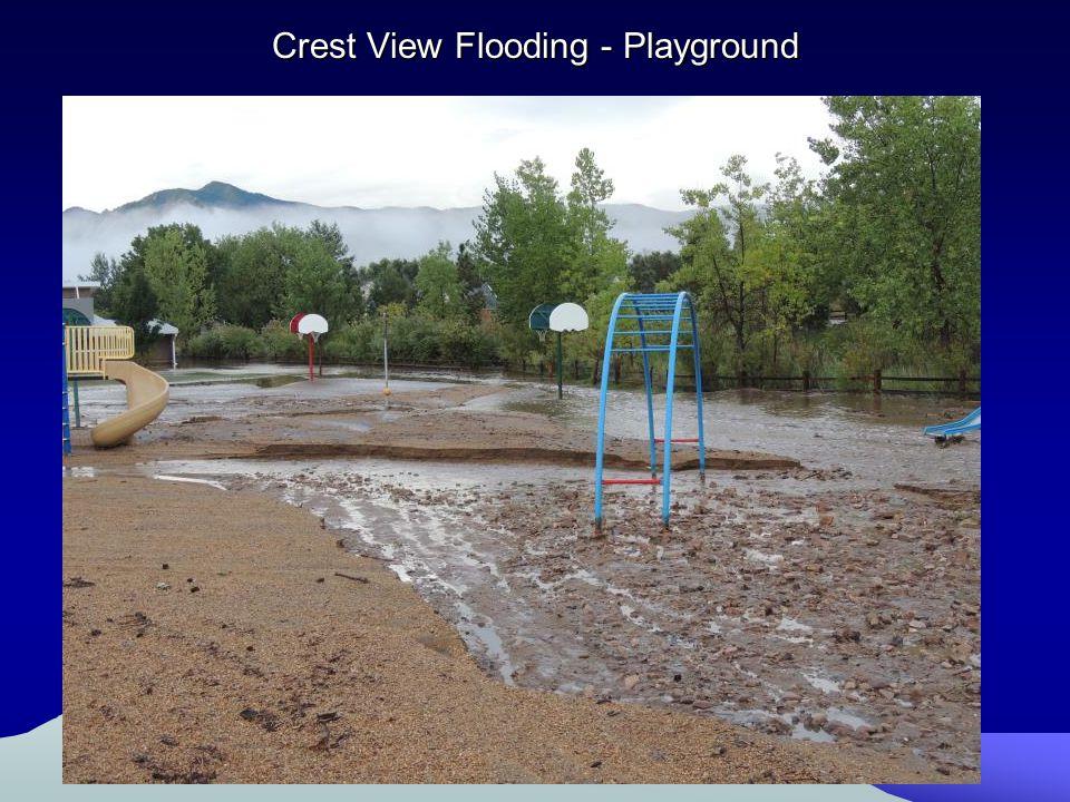 Crest View Flooding - Playground