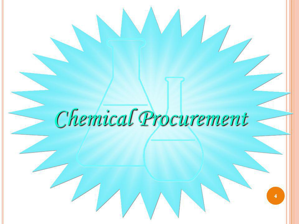 T RANSPORTING C HEMICALS If chemicals are transferred to a second container, make sure the new container is labeled with the chemical name.