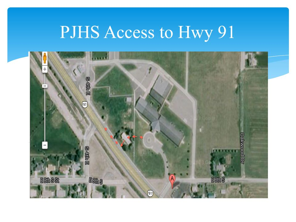 PJHS Access to Hwy 91