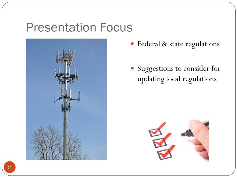 Issues Behind FCC Proposed Rules 13 1.