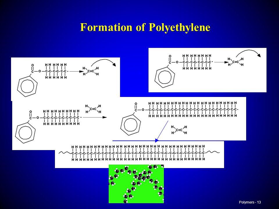 Polymers - 13 Formation of Polyethylene