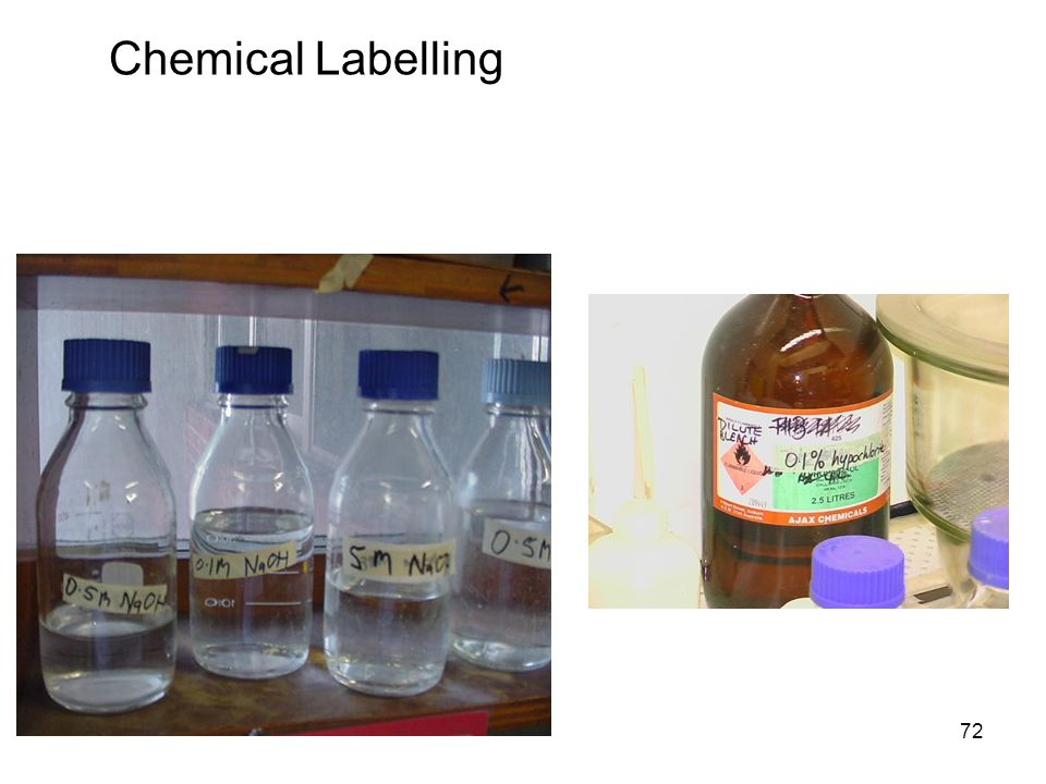 72 Chemical Labelling