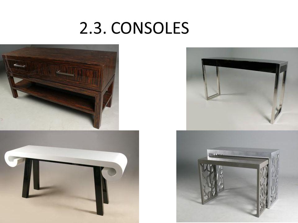 2.3. CONSOLES