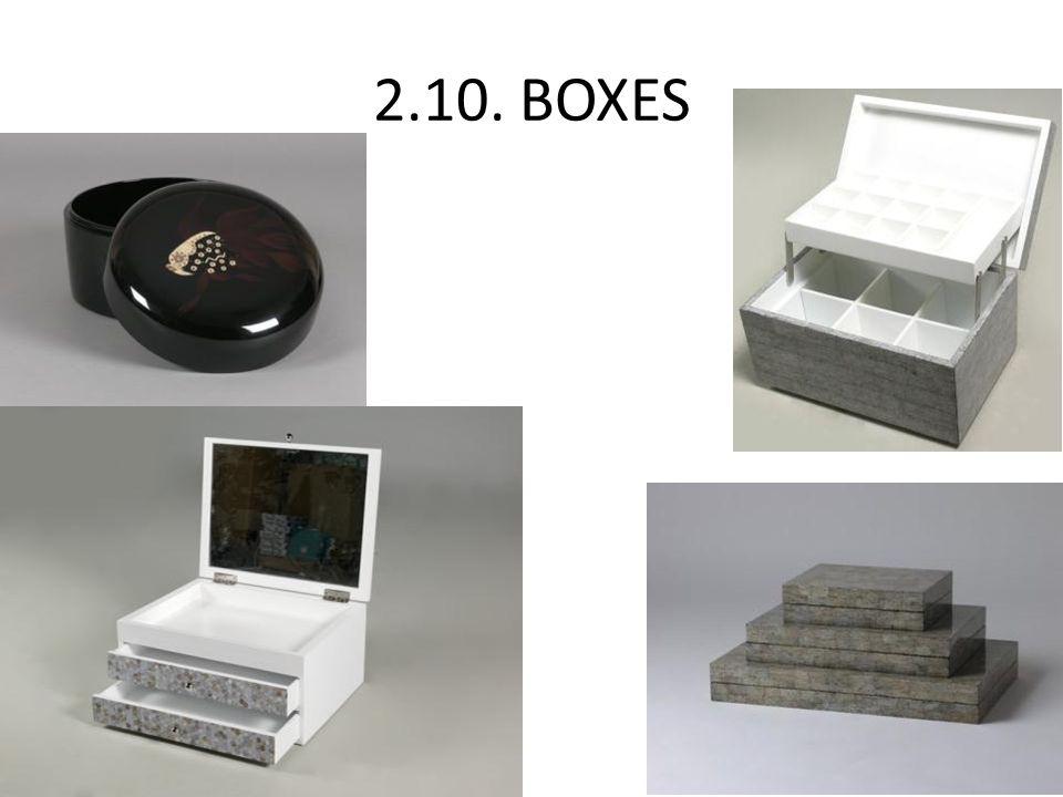 2.10. BOXES