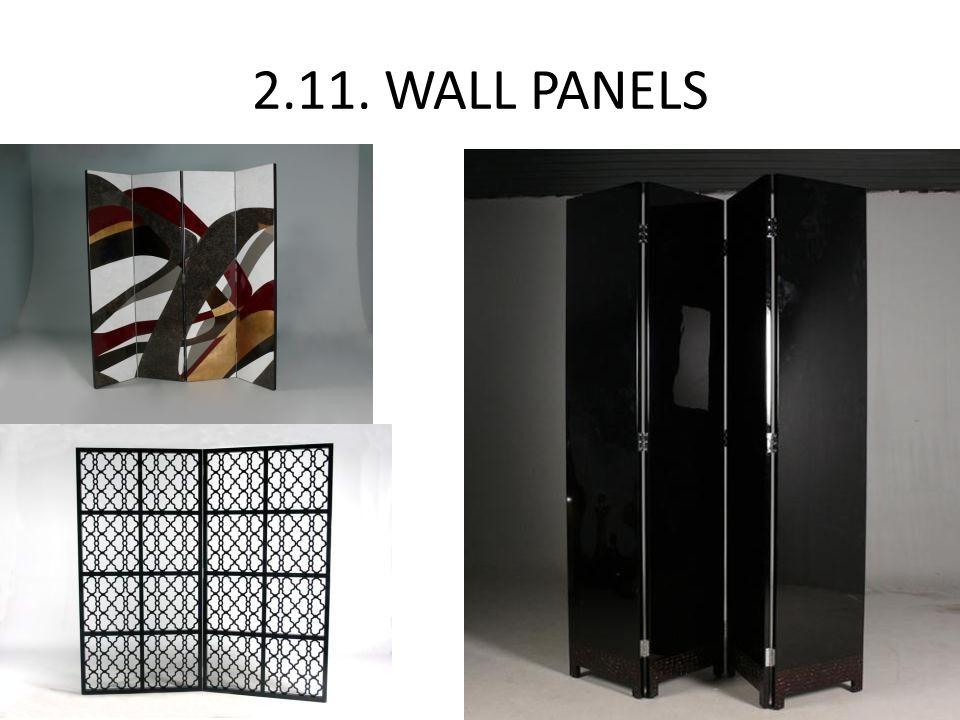 2.11. WALL PANELS
