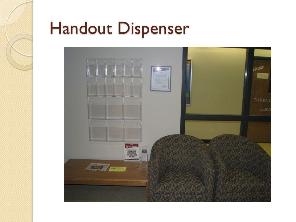 Handout Dispenser