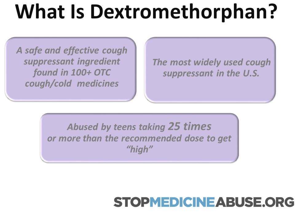 What Is Dextromethorphan? A safe and effective cough suppressant ingredient found in 100+ OTC cough/cold medicines The most widely used cough suppress