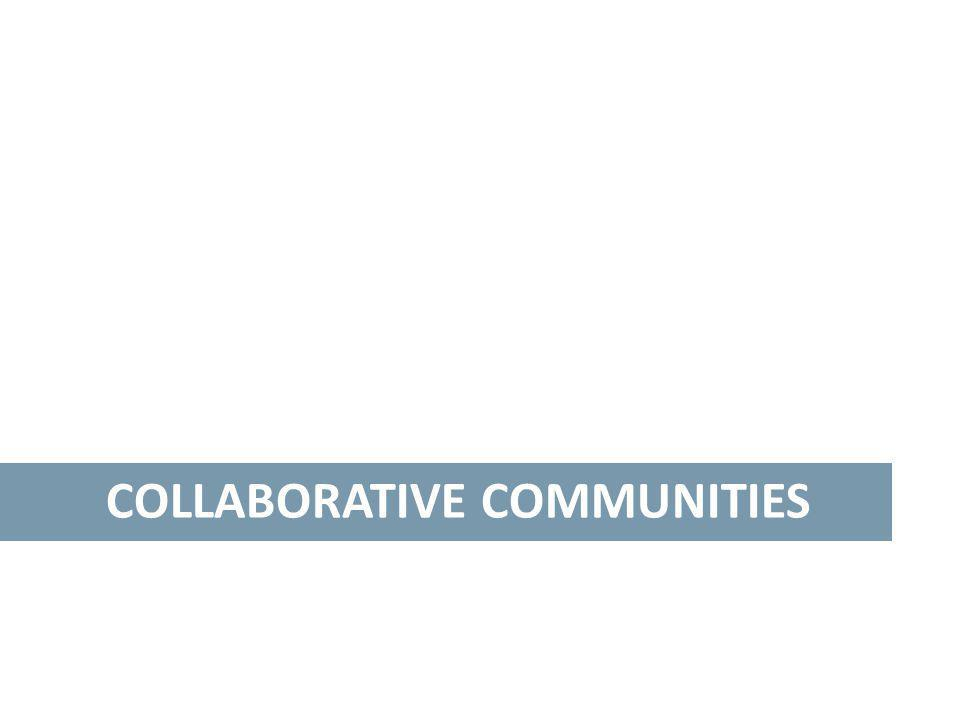 COLLABORATIVE COMMUNITIES
