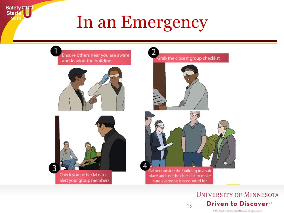 In an Emergency 75