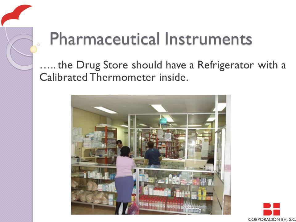 Pharmaceutical Instruments …..