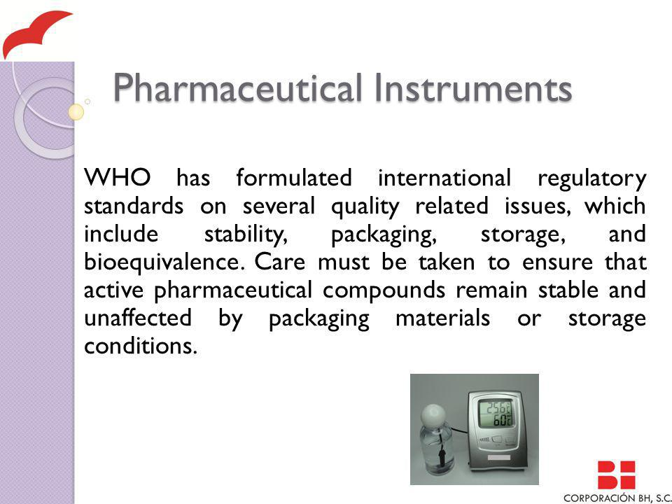Pharmaceutical Instruments Wednesday, January 4, 2006 OFFICIAL GAZETTE MEXICO HEALTH DEPARTMENT Official Mexican Standard NOM-073-SSA-2005 Stability of Drugs and Medicine