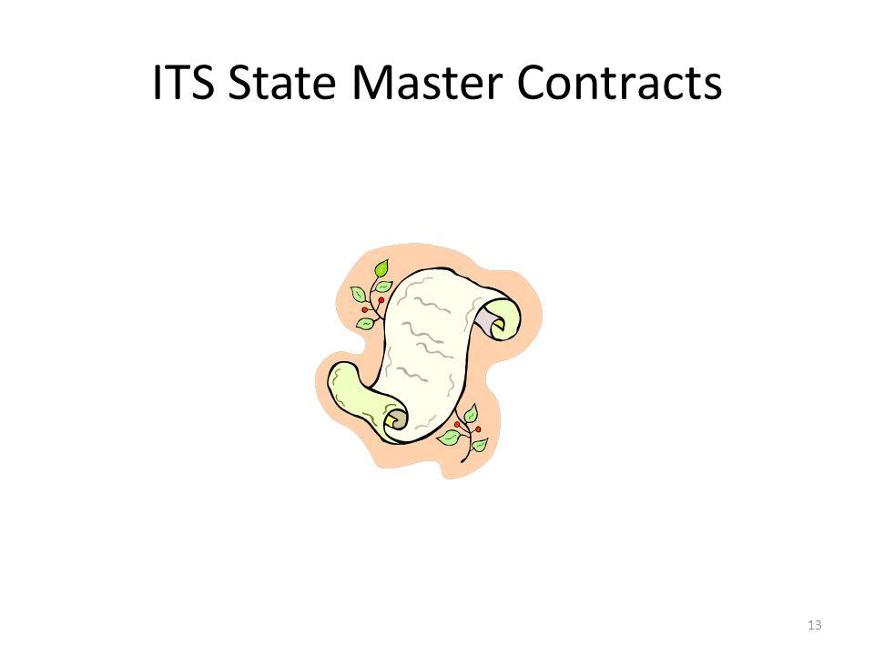 ITS State Master Contracts 13