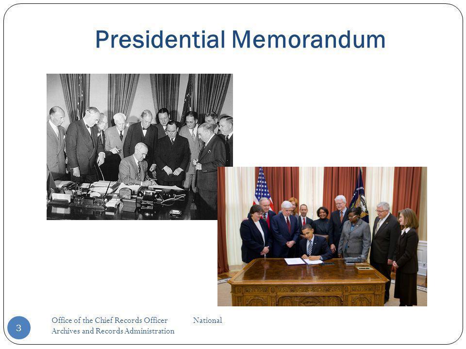 3 Presidential Memorandum
