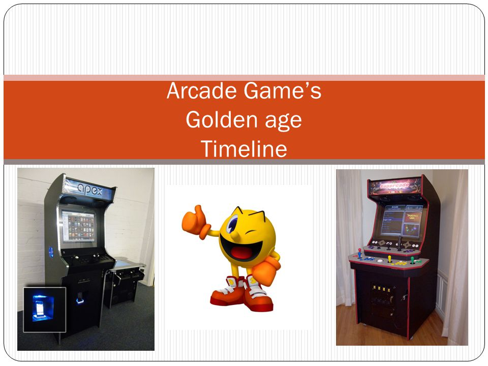 Arcade Games Golden age Timeline