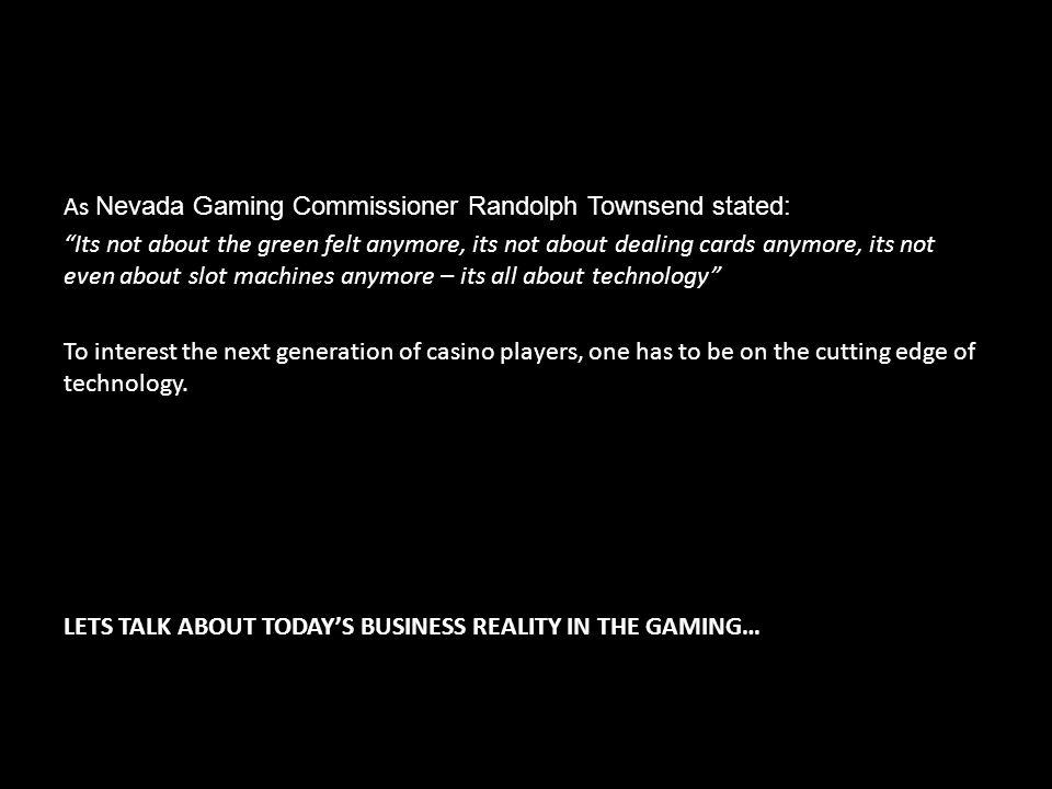 STANDARDS CERTIFICATION MEMBERSHIP www.gamingstandards.com