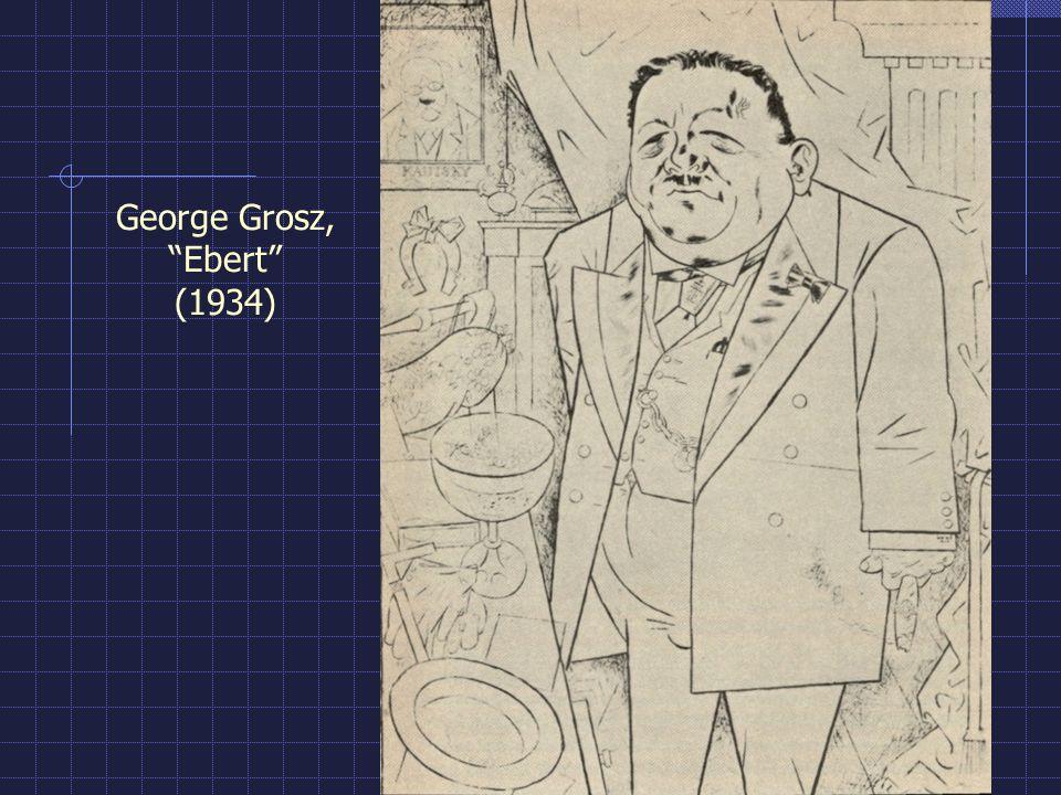 George Grosz, Ebert (1934)
