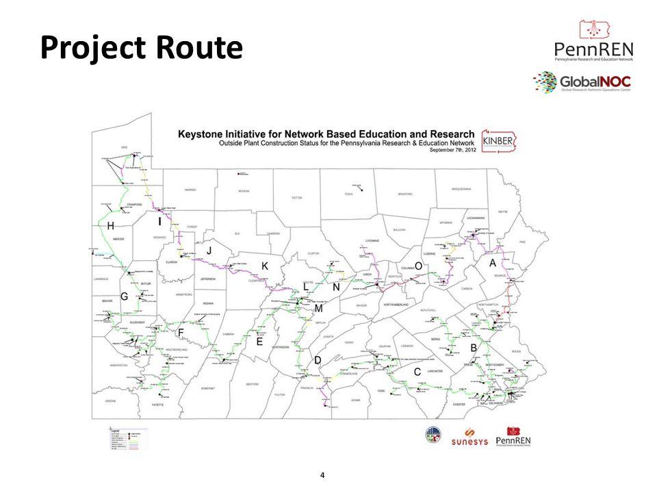 PennREN Locations Service Nodes Lehigh University 401 N.
