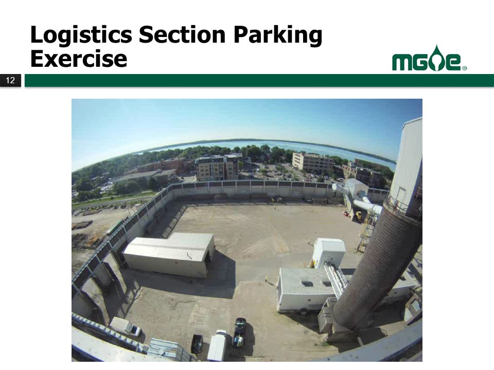 12 Logistics Section Parking Exercise