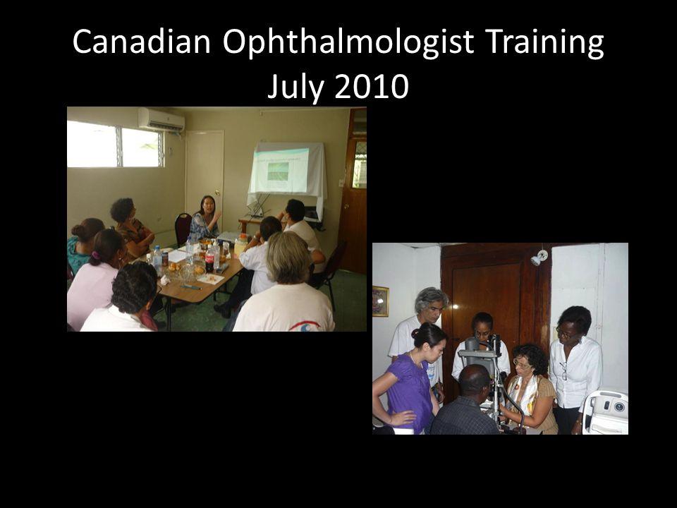 AAO- Visiting Professor Volunteer List Subspecialty Representation – Oculoplastics – Glaucoma – Pediatrics – Training tech staff